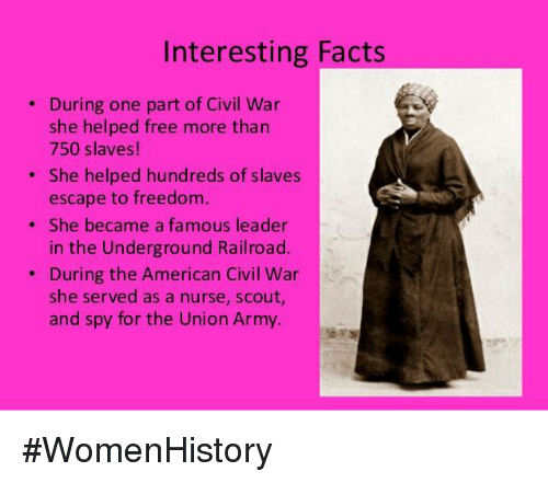 Interesting Facts About Harriet Tubman For Kids