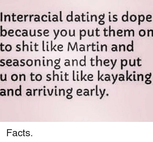 Interracial dating information