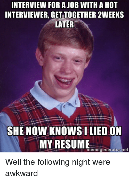 Interview Forajob With A Hot Interviewer Get Together 2weeks Later