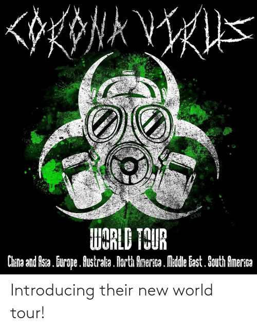 Introducing: Introducing their new world tour!