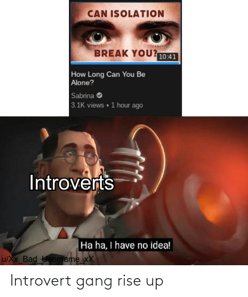rise up: Introvert gang rise up