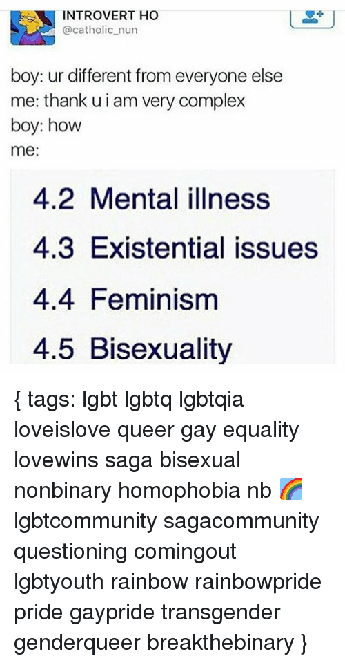 Bisexual mental illness