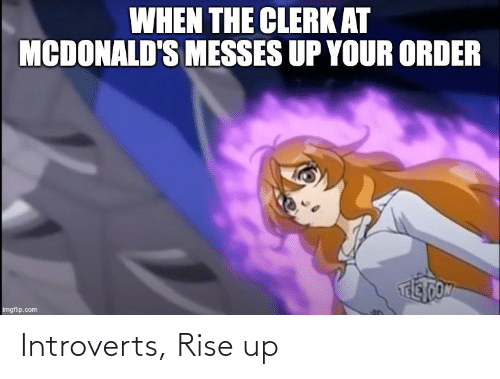 rise up: Introverts, Rise up