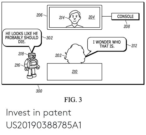 patent: Invest in patent US20190388785A1
