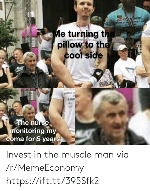 muscle: Invest in the muscle man via /r/MemeEconomy https://ift.tt/395Sfk2