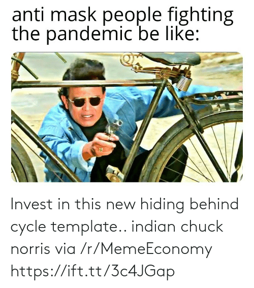 Indian: Invest in this new hiding behind cycle template.. indian chuck norris via /r/MemeEconomy https://ift.tt/3c4JGap