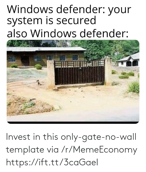 wall: Invest in this only-gate-no-wall template via /r/MemeEconomy https://ift.tt/3caGaeI