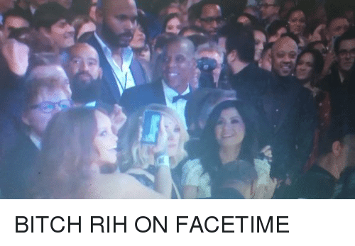 Blackpeopletwitter, Ire, and Rih: ire BITCH RIH ON FACETIME