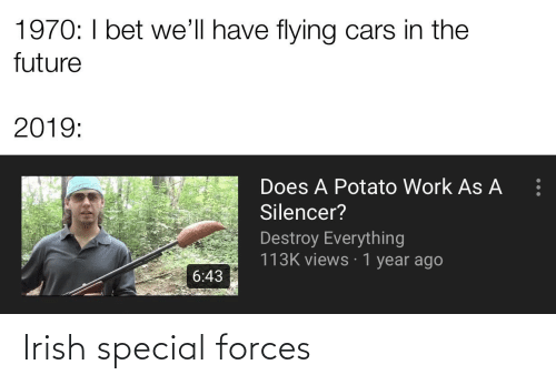 special forces: Irish special forces