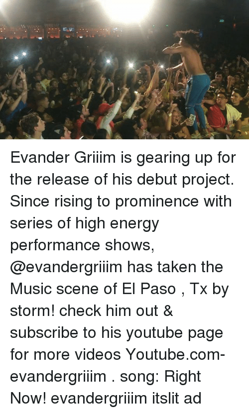Is Evander Griiim Is Gearing Up For The Release Of His