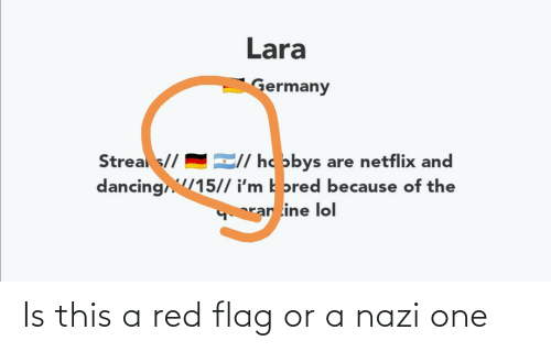 red flag: Is this a red flag or a nazi one