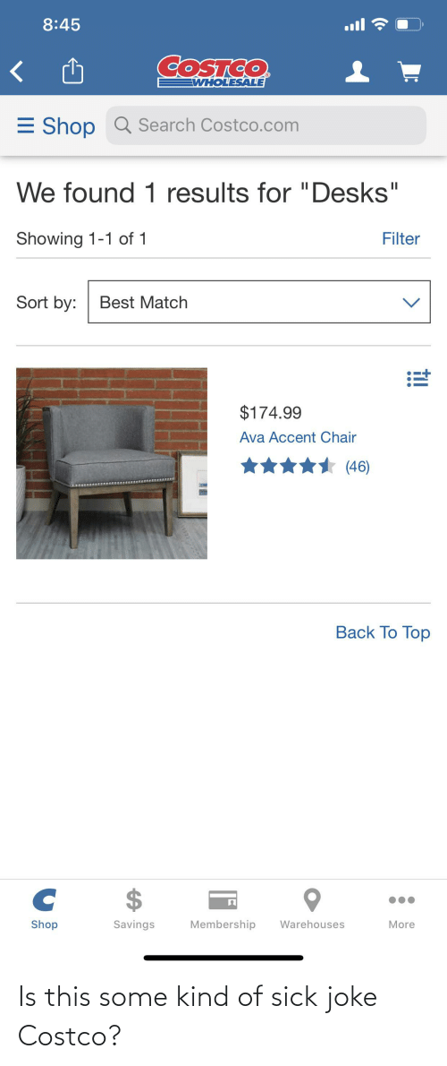 Costco: Is this some kind of sick joke Costco?