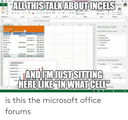 Microsoft Office: is this the microsoft office forums