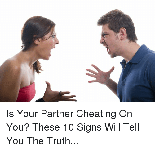 signs she is cheating on you