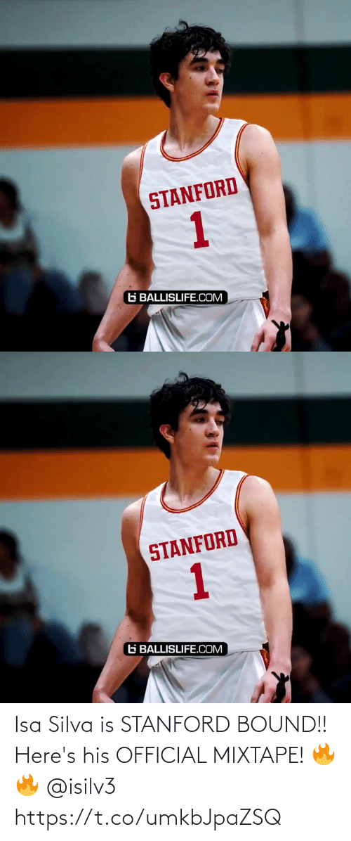 Mixtape: Isa Silva is STANFORD BOUND!! Here's his OFFICIAL MIXTAPE! 🔥🔥 @isilv3 https://t.co/umkbJpaZSQ