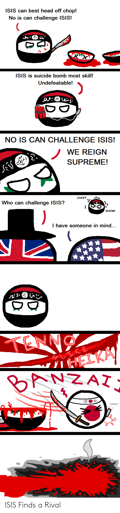 ISIS: ISIS Finds a Rival