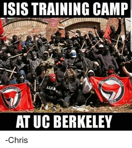 Isis, Memes, and UC Berkeley: ISIS TRAINING CAMP  CHISP  AT UC BERKELEY -Chris