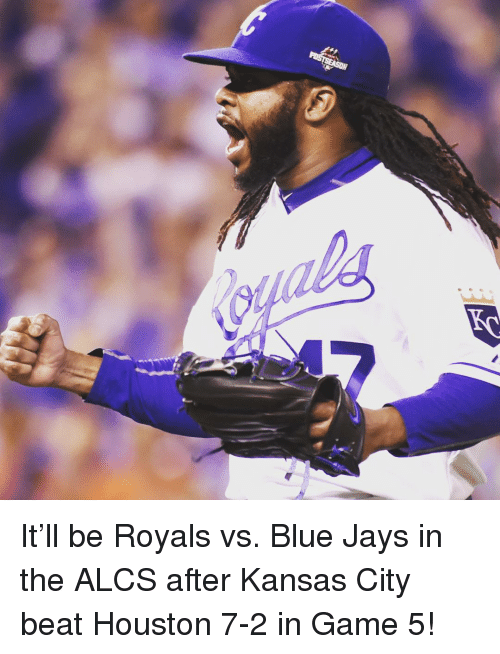 Blue Jays: It'll be Royals vs. Blue Jays in the ALCS after Kansas City beat Houston 7-2 in Game 5!