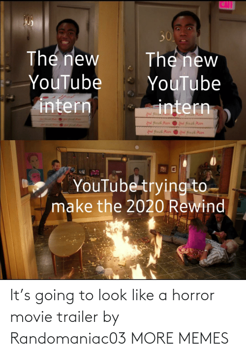 Going To: It's going to look like a horror movie trailer by Randomaniac03 MORE MEMES