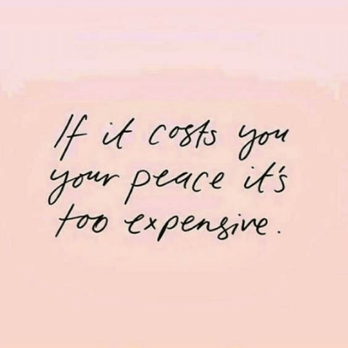 Costs: it costs go  gouy peace its  foo trpensine