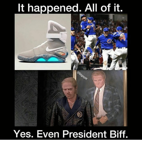 Memes, Presidents, and 🤖: It happened. All of it.  Yes. Even President Biff.