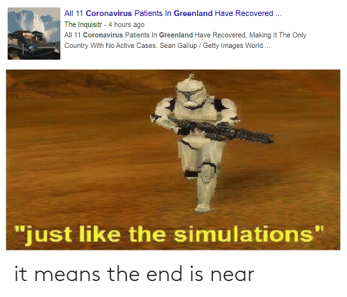the end is near: it means the end is near
