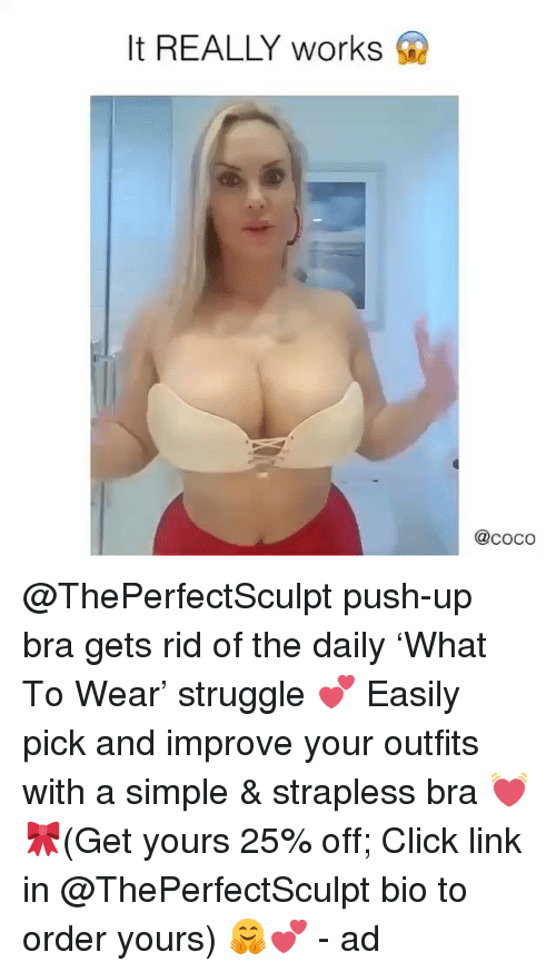 perfect sculpt bra how to put on