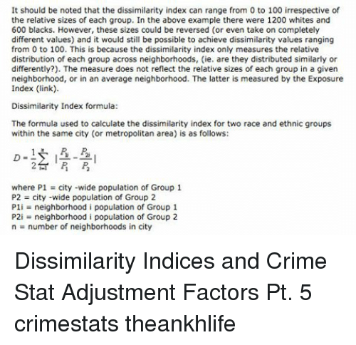 the measure of ones race and ethnicity