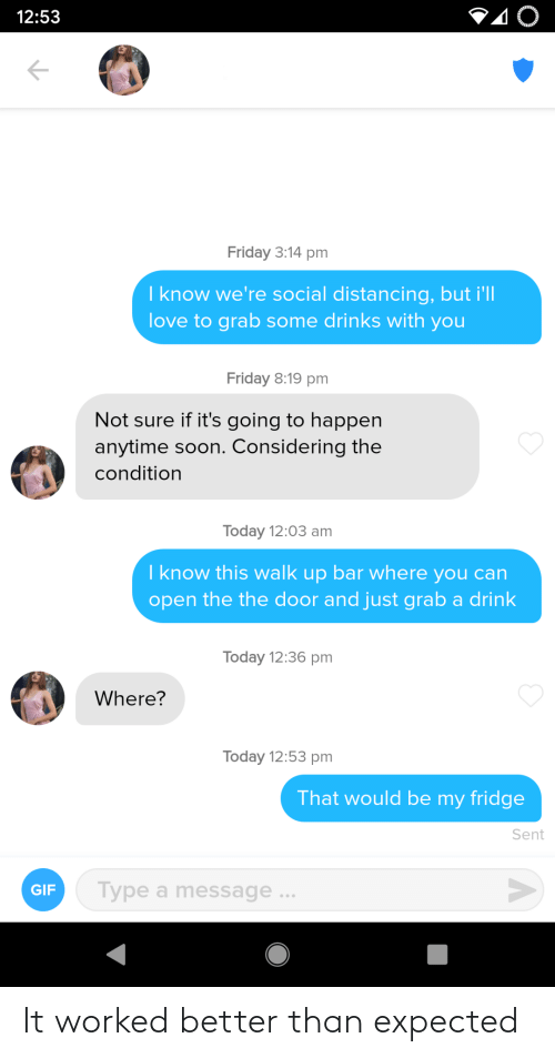 expected: It worked better than expected