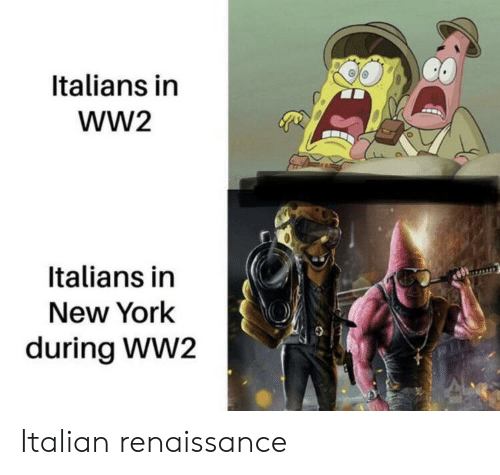 italians: Italians in  wW2  Italians in  New York  during WW2 Italian renaissance