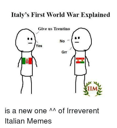 italys first world war explained give us trentino no yes 1151363 italy's first world war explained give us trentino no yes grr iim