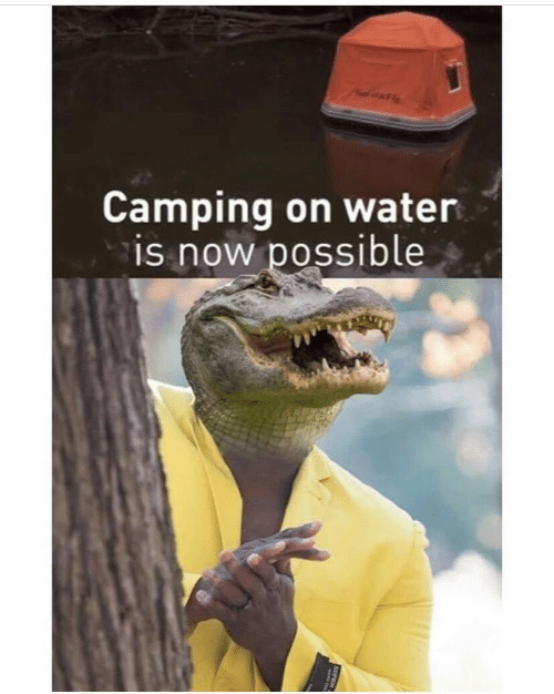camping: itFly  Camping on water  is now possible