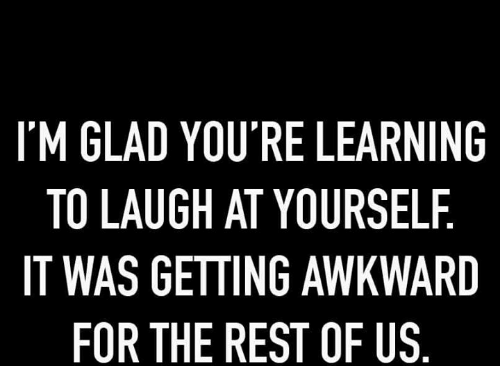 learning to laugh at yourself in Find help, online therapy & free counseling and someone to talk to while on the go we are here to listen.