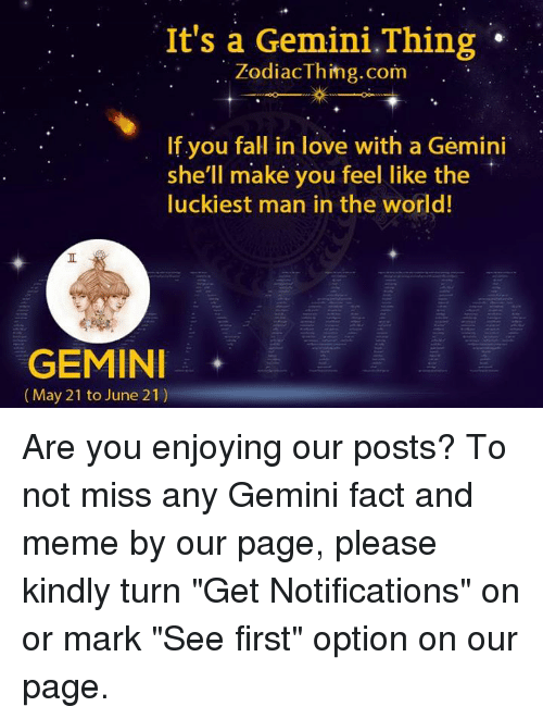 how to make gemini man fall in love with you