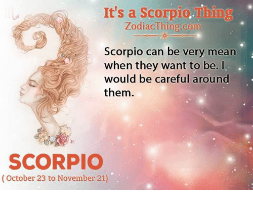 why are scorpios mean