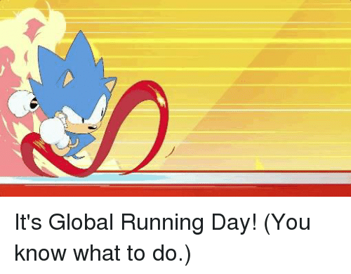 Dank, Running, and 🤖: It's Global Running Day!  (You know what to do.)