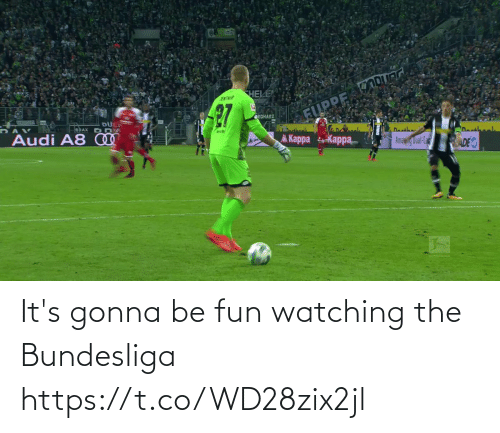 Its Gonna Be: It's gonna be fun watching the Bundesliga   https://t.co/WD28zix2jl