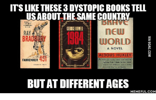 a comparison contrast of the novels a brave new world by aldous huxley and 1984 by george orwell George orwell and aldous huxley's brave new world while george orwell's 1984 is more often futures orwell and huxley painted out in their novels that.