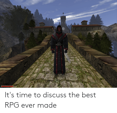 rpg: It's time to discuss the best RPG ever made