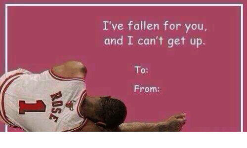valentines day meme ive fallen for you - 25 Best Memes About Cant Get Up