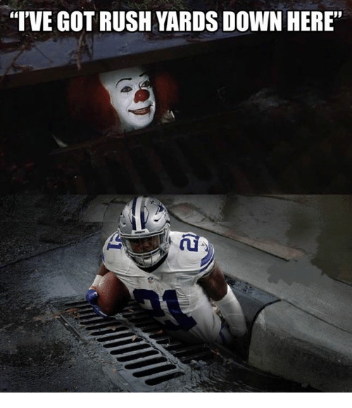 Nfl, Rush, and Got: I'VE GOT RUSH YARDS DOWN HERE""