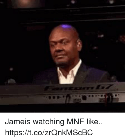 jameis: Jameis watching MNF like.. https://t.co/zrQnkMScBC