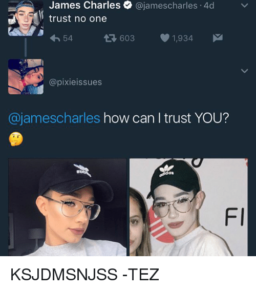 James Charles Charles 4d Trust No One 54 03 1934 M T