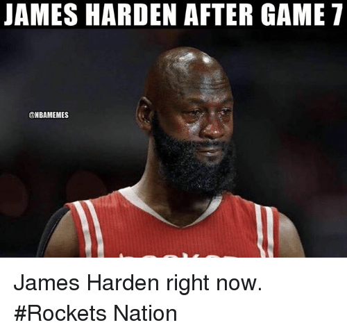 James Harden, Nba, and Game: JAMES HARDEN AFTER GAME T  @NBAMEMES James Harden right now. #Rockets Nation