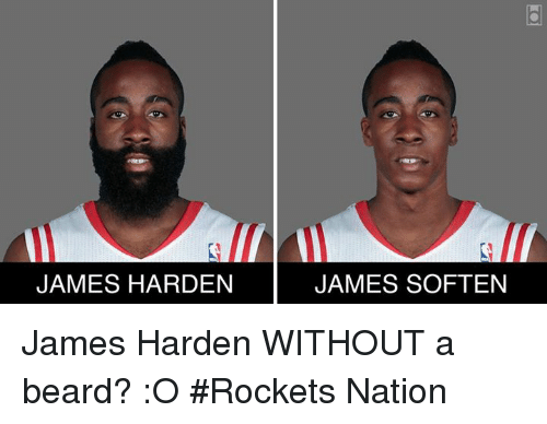 james harden james soften james harden without a beard o 16777471 james harden james soften james harden without a beard? o rockets