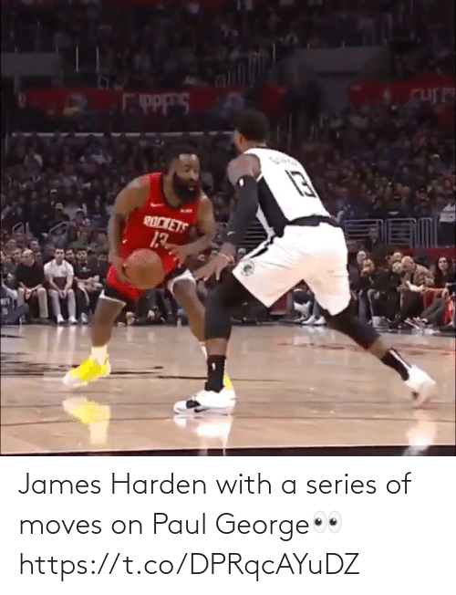 George: James Harden with a series of moves on Paul George👀 https://t.co/DPRqcAYuDZ