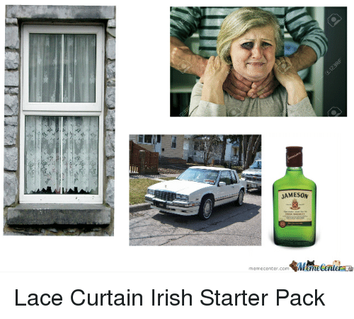 irish starter packs and curtains jameson a lace curtain
