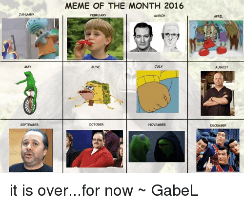 Color Of The Month February 2016: JANUARy MAY SEPTEMBER MEME OF THE MONTH 2016 FEBRUARY JULY
