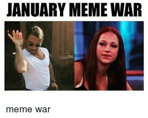 Memes, 🤖, and Meme War: JANUARY MEME WAR meme war