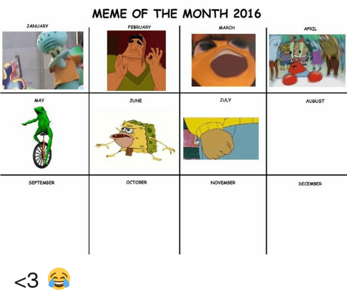 Color Of The Month February 2016: JANUARY SEPTEMBER MEME OF THE MONTH 2016 FEBRUARY MARCH